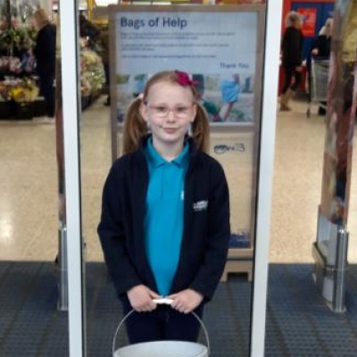 Fundraising at Tesco 2