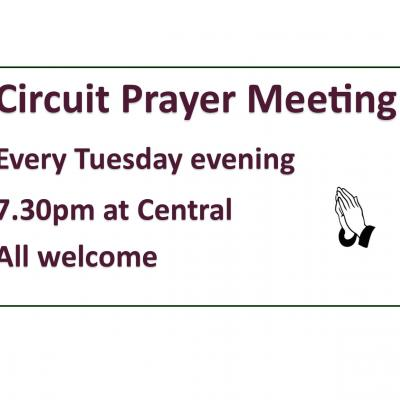 General Circuit Prayer Meeting Notice