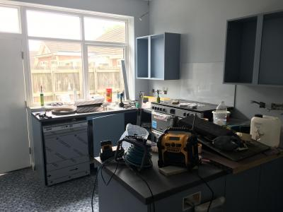 Kitchen Progress 2-31/5
