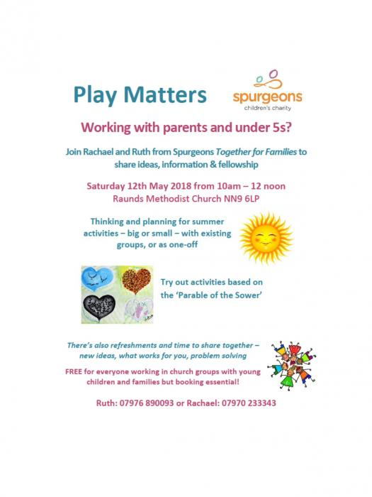 Play Matters May 2018 poster