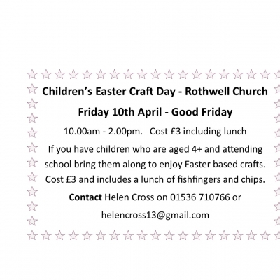 Rothwell Craft Day