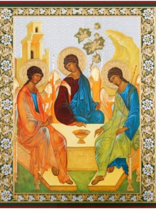 Rublev Icon of the Trinity